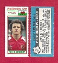Wales Peter Nicholas Arsenal 180